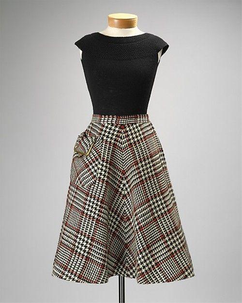 Skirt  Bonnie Cashin, 1954  The Metropolitan Museum of Art