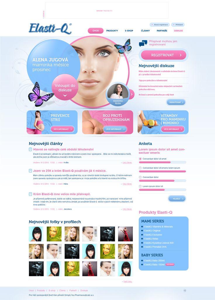 feminine web design - #web #design