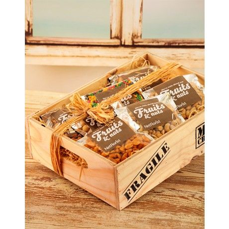 Man Crates Nut Hamper, the perfect gift for men who love nuts...