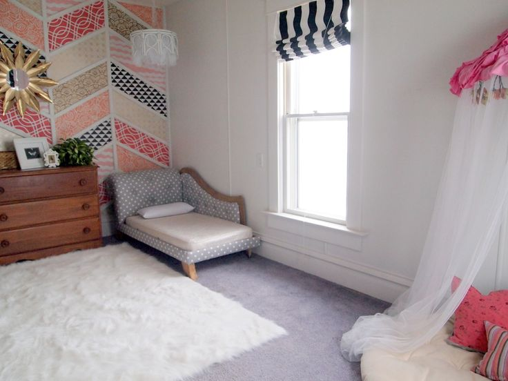 Old Papasan Turned Into A Papasan Canopy Reading Nook! Papasan ChairLittle  Girl ...