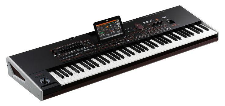 Bermain Orgen Tunggal dengan virtual keyboard korg. virtualnya keyboard dari merek korg, yaitu music studio korg pa4x