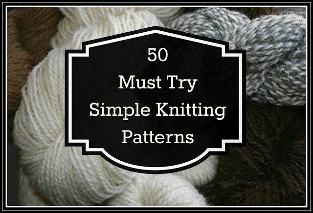 50 knitting ideas
