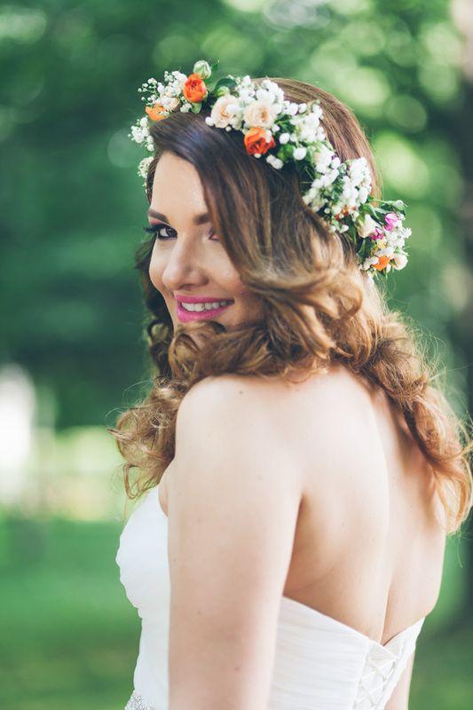brides, wedding wreath, mirese