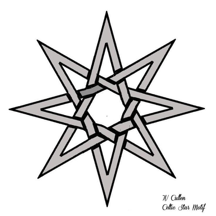 Celtic 6 Point Star