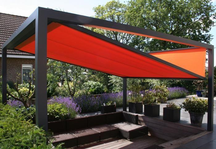 Groja Cube Terrassendach freistehend Anthrazit | Sonnenschutz | MESEM.de