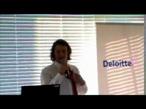 Let's just say at least I won't be forgotten at Deloitte Cape Town!