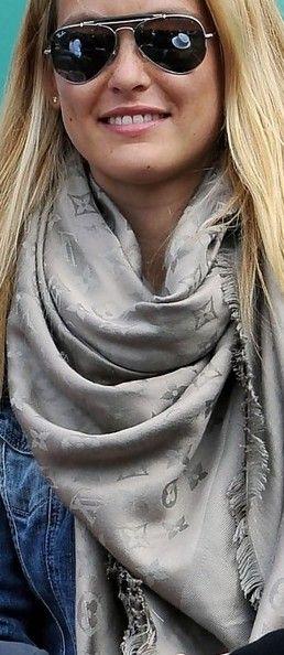 Louis Vuitton scarf...want it sooooo bad