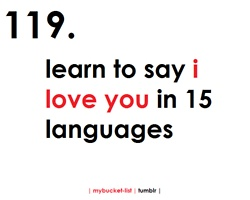 list of i love you in different languages