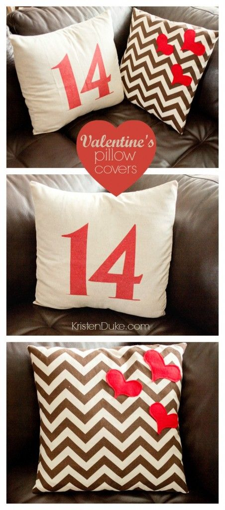 Valentine's Pillow Covers + Giveaway KristenDuke.com