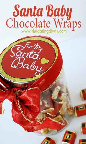 "I love this special gift for my ""Santa baby!"""