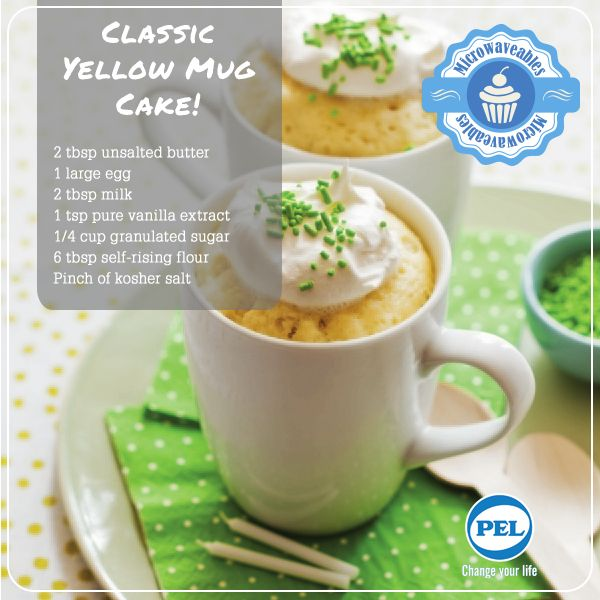An all time classic, and favourite, make the yellow tea cake in the microwave.