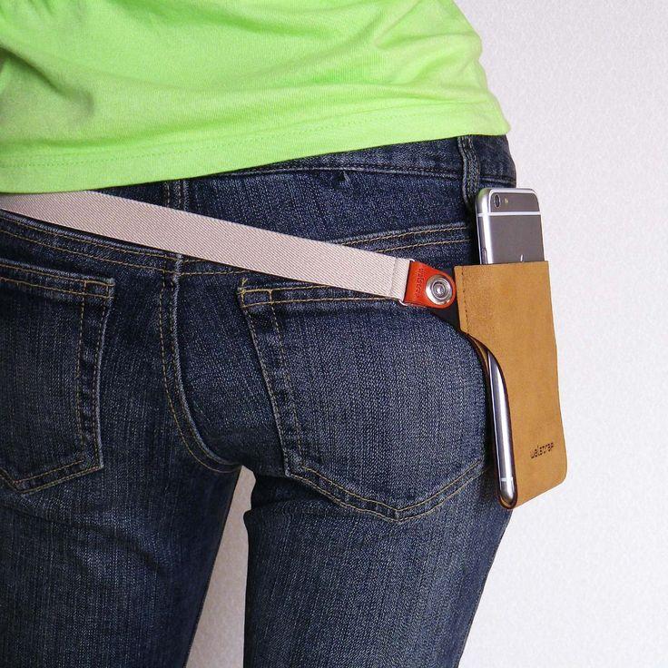 iPhoneを身に着ける新しいファッション。ベルトポーチ/ホルスター/ポシェットを融合した新発想のモバイルホルダーケース「Slipin」誕生。3680円