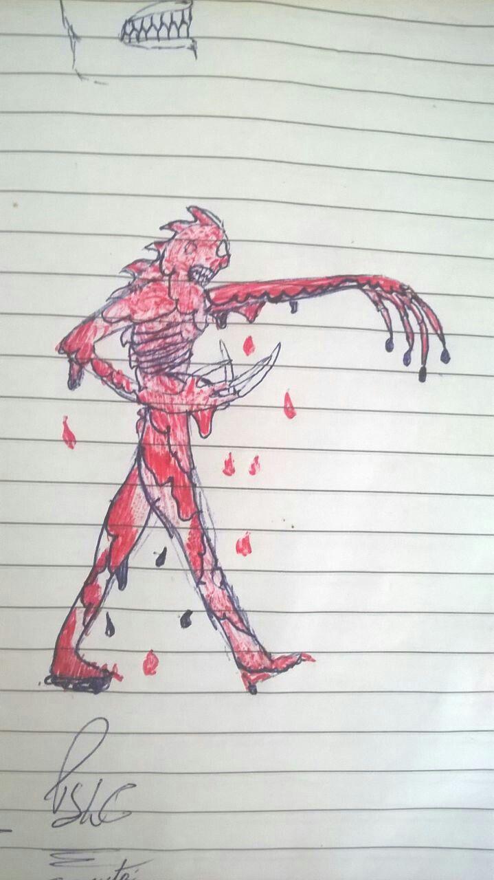 Monstro do rio de sangue.