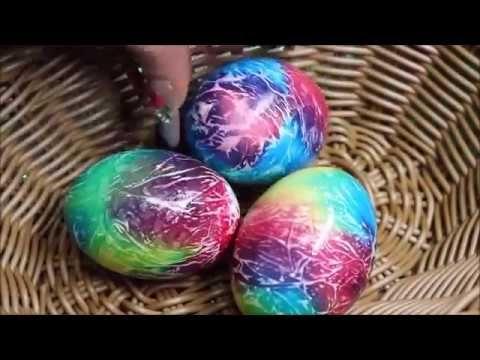 Easter Eggs 2017 ! Oua de Paste vopsite cu colorant alimentar!