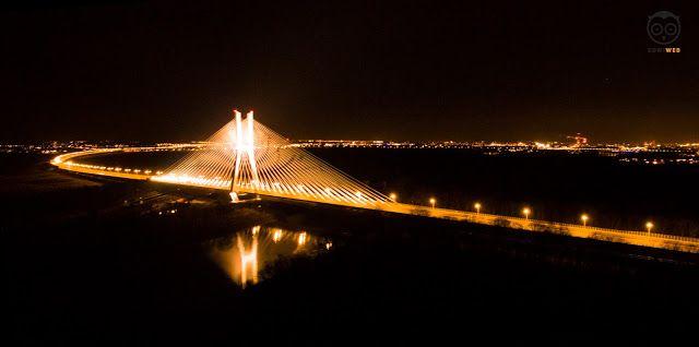 Most Rędziński- Wrocław- SowiWeb - Owl You Need, filmowanie dronem