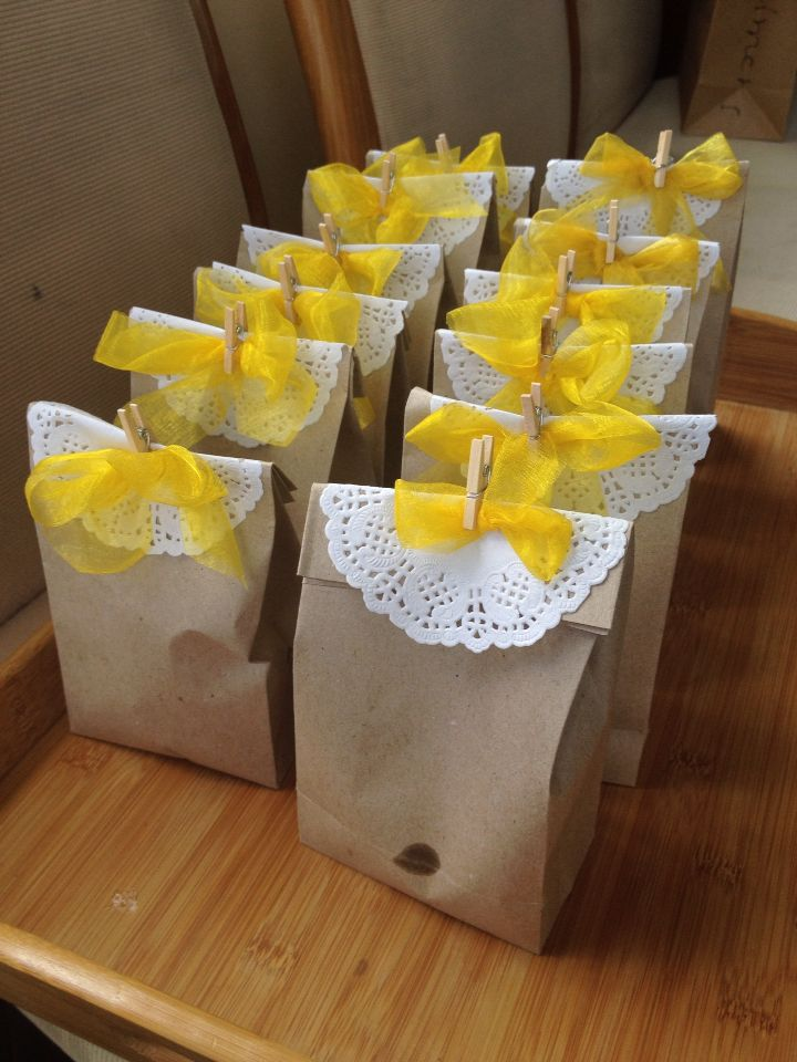 Another goodie bags made by mother to be