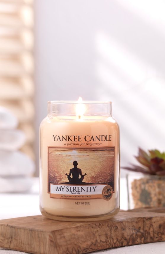 Featuring notes of pear, orange and musk to create a #YankeeCandle fragrance that is the definition of calm!