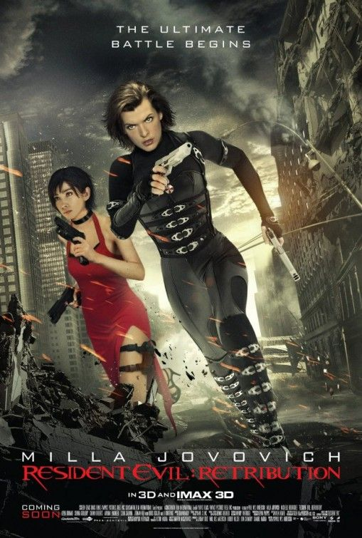 Finally - we got all the characters we love & hate in one movie!!! Resident Evil: Retribution