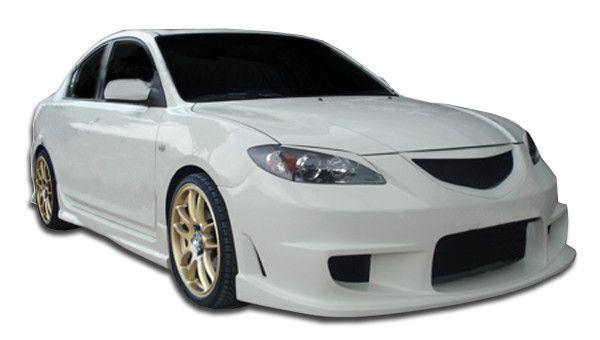 2004-2009 Mazda 3 4DR Duraflex I-Spec Body Kit - 6 Piece
