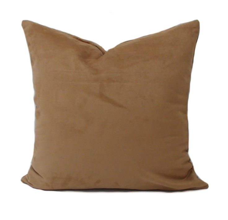 Brown pillow covers, 20x20, Decorative pillows, Brown throw pillow, Sofa cushions, Couch cushion, Brown toss pillow, Accent pillow by PillowCorner on Etsy