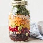Southwestern+Salad+in+Mason+Jar+{+a+Giveaway}