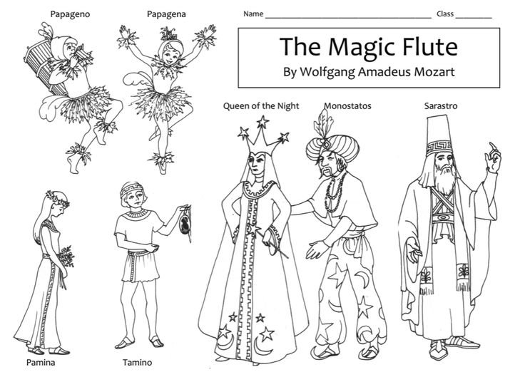 Beth's Music Notes -- Info on Magic Flute.  Must check out for Opera!
