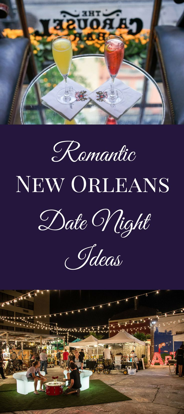You never need an occasion to set aside a romantic evening for you and your favorite plus one, and New Orleans offers up plenty of romance year-round.