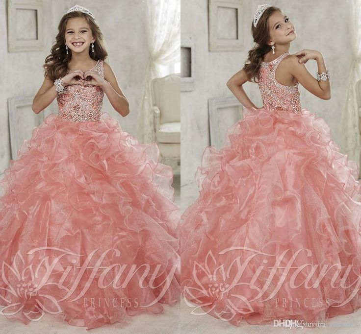 kids gowns with ruffles – fashion dresses