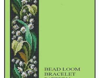 Grano telar Vintage Floral frontera 5 6 7 por MyTreasureIsland