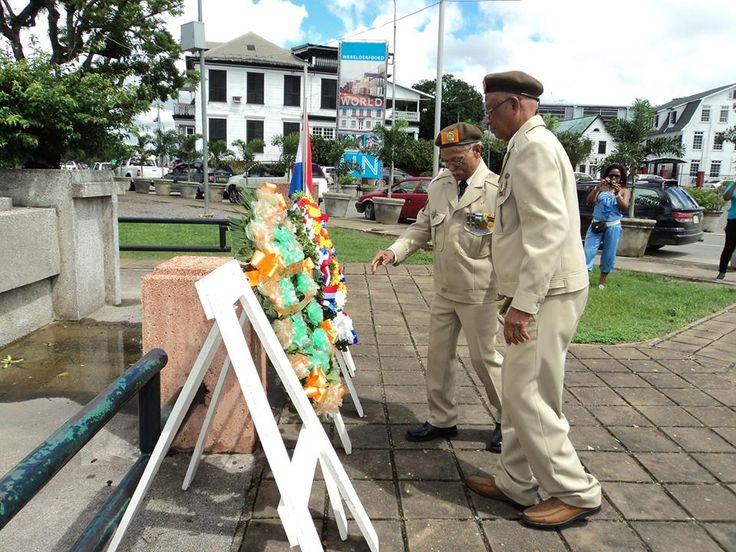 De zeventigste sterfdag van de op 12 maart 1912 geboren in Paramaribo geboren Harry Frederik Voss, sergeant bij de Militaire Politie in het Koninklijk Nederlands Indisch leger, door Japanners gefusilleerd en symbool staand voor alle oorlogsgevallenen, is vandaag, 29 mei 2013, herdacht.