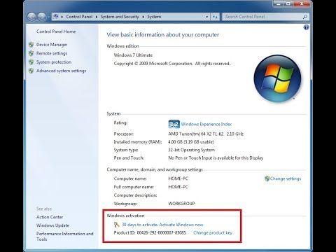 Window 7 Download Activator+ Setup Registered Free | http