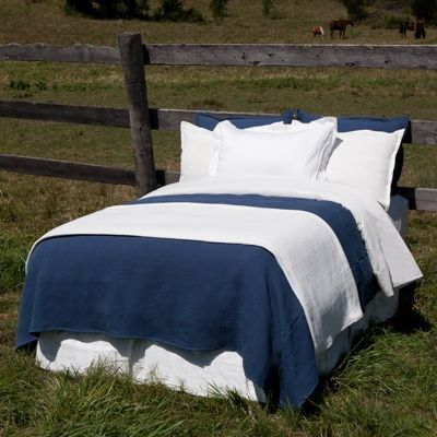 Beautiful fair trade and organic bedding and baby products. GLO Organic Cotton Matelasse Coverlet