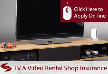 TV And Video Rental Shop Insurance