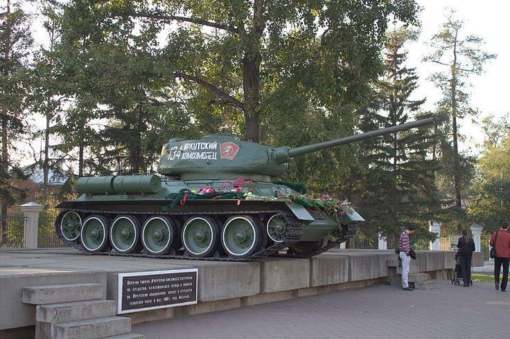 Т-34-85 «Иркутский комсомолец» в Иркутске