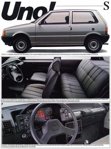 1984 Fiat Uno - Brasil