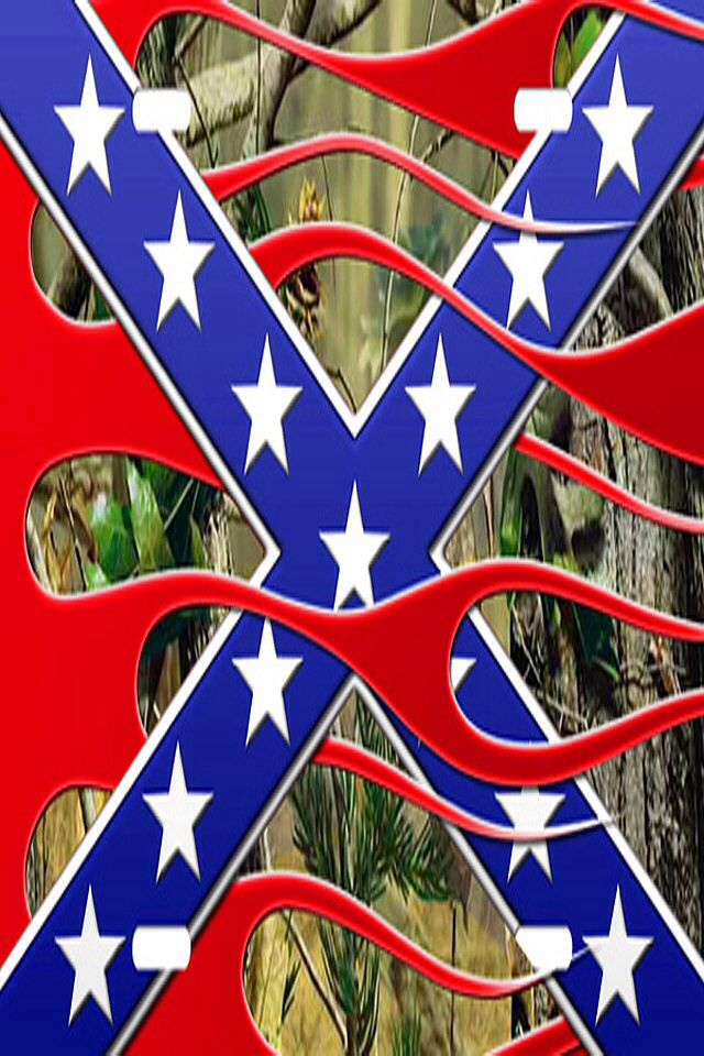 Rebel flag/camo background Camo! Pinterest