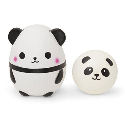 Jumbo Panda Squishy Slow Rising - Set of 2 - Panda Squishies Pack - Cute Kawaii, Stress Relief, Party Favors, Fidget Desk Toy, Classroom Prizes #Jumbo #Panda #Squishy #Slow #Rising #Squishies #Pack #Cute #Kawaii, #Stress #Relief, #Party #Favors, #Fidget #Desk #Toy, #Classroom #Prizes