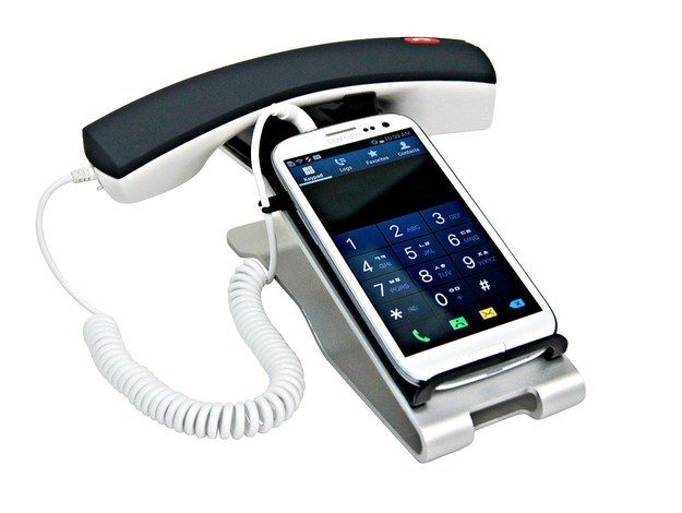 An old school phone set for your smart phone ($30).