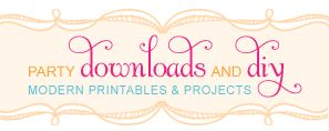 Downloads and DIY -- Free goodies and DIY projects for your parties (see also this link, aside from pin's link: http://www.hostessblog.com/category/design-creative/diy-party-projects/