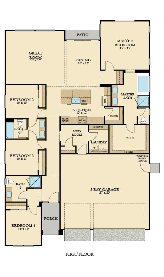36 best Lennar Floorplans Single Story images on Pinterest