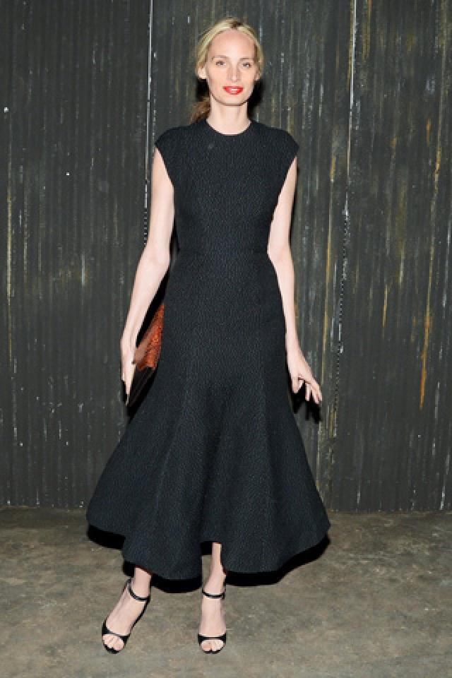 Black dress- Lauren Santo Domingo