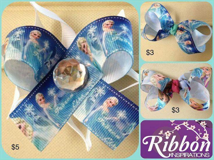 Frozen hair accessories