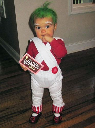 I feel like if you have a baby and you dont dress them up as an Oompa Loompa at least once, you have failed as a parent.