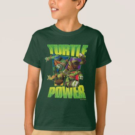 Teenage Mutant Ninja Turtles | Turtle Power! T-Shirt - click/tap to personalize and buy