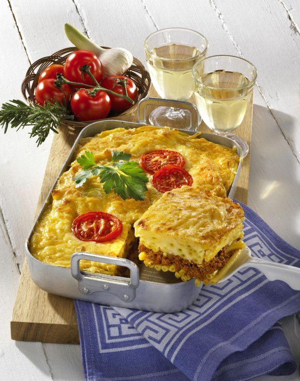Unser beliebtes Rezept für Griechischer Pastitsio und mehr als 55.000 weitere kostenlose Rezepte auf LECKER.de.