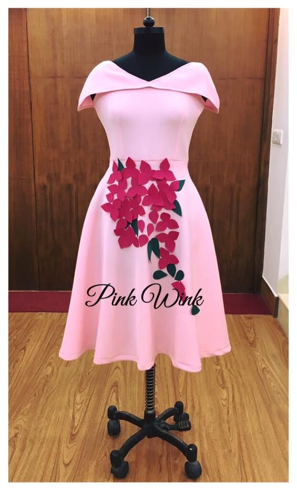 Pink Wink. by RITIKA BHANDARI. Source : https://www.facebook.com/pinkwinkcouture/. 29 January 2017