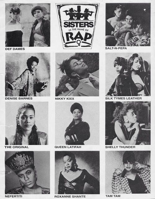 If you really wanna taste deep into the lineage of the Hip Hop female MC, Sisters In The Name of Rap is a MUST SEE.