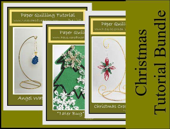 DIY Pattern Christmas Tutorial Bundle: by NeverBoredCreations.com