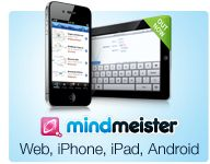 Cartografía de la mente y el intercambio de las ideas - disponible para Web, iPhone, iPad y Android