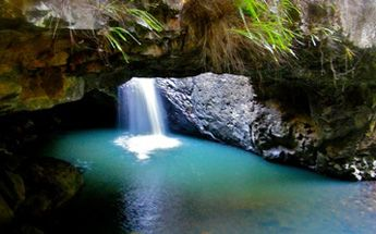 To protect the environment and yourself, stay on the walking tracks and behind the fences at Natural Bridge. Photo: Dan Garnett, Queensland ...